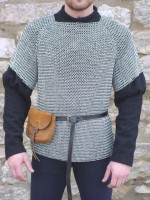 Aluminium Chainmail Shirt Butted M Size 10mm