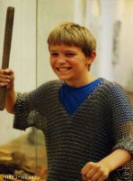 Chainmail Shirt Butted age 5-10 yrs Size