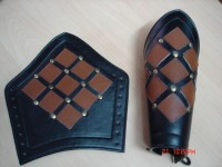Leg Greaves Guard Armor RLG-03