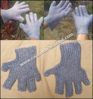 Chain Mail Gloves Chainmaille Gauntlets