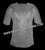 Chainmail Shirt Wedge Riveted Children Size 5 to 10 CWR001