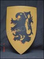 Medieval Warrior Armor Shield