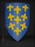 Medieval Collectible Battle Wooden Shield