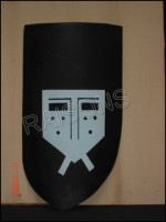 Medieval Battle Ready Armor Shield (Wooden)