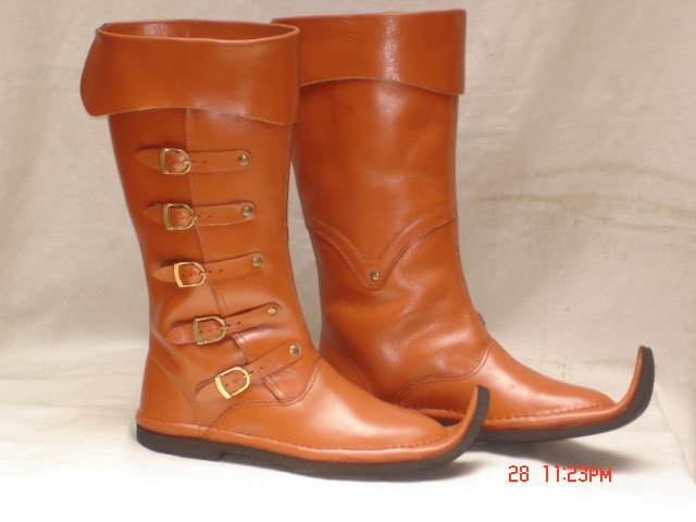medieval boots, medieval shoes, boot shoes, medieval leather boo