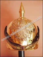 German Pickelhaube Helmet Brass German Helmets