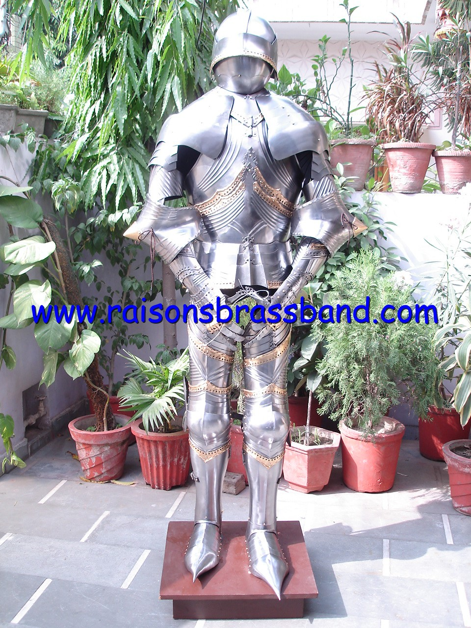 German Gothic Suit of Armor