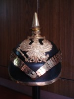 German Prussian Helmet WW1 Pickelhaube Helmets