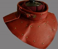 Gorget Leather Gorget Armour