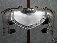 Gorget Armour Neck Plate Armor Set