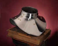 Steel Gorget Plate Armour