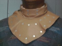 Gorget Armor Leather Gorget Armour