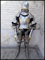 Medieval German Gothic Suit of Armor