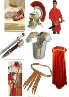 Greek Roman Centurion Costume Set Full Clothing Armor Set