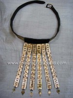 Roman Legion Belt Brass & Leather Trozan Belt