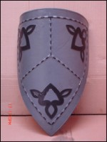 Medieval Leather Armor Shield