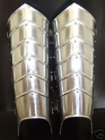 Steel Leg Greaves Leg Guard Armor
