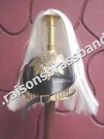 Prussian Pickelhaube Royal Helmet with plum