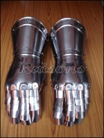 Medieval Knight Gauntlets, Iron Gauntlets