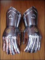 Greek Roman Knight Gauntlets
