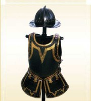 Pikesman Armor with Helmet Black