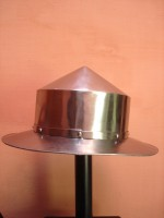 Pointed Kettle Hat Kettle Helmet, Spanish helmets