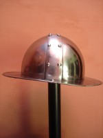 Kettle Helmet Battle Ready Chapel-De-Fer Helmet Spanish Helmets