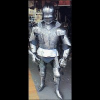15th Century Gothic Suit of Armor Fully wearable