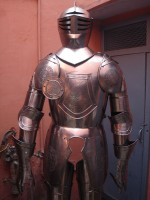 European Knight Suit of Armor Etched RSA-03