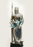 Crusader Knight Full Suit of Armor