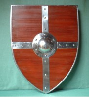 Medieval Wooden Combat Armor Shield