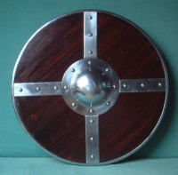 Viking Norman wooden round combat shield