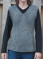 ChainMail Shirt Butted M Size Sleevesless RCM03A