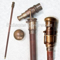 Antique InSight Telescope Walking Stick Telescope