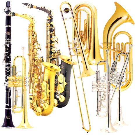Brass Band Instruments