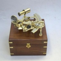Sextant, Wooden Box