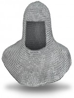 Aluminium Chainmail Coif Butted Children Size