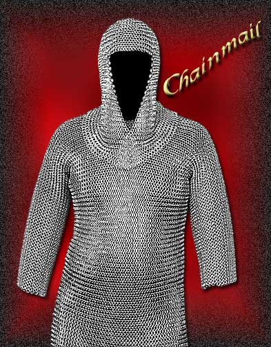 chainmail armor, chainmail shirt, medieval chainmail, chain mail