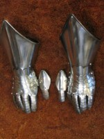 Medieval Armour Steel Gauntlets