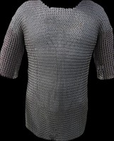 Chainmail Haubergeon Stainless Steel Butted XL Size