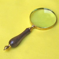 Magnifying glass Wooden Handle