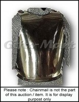 Ancient Plain Breastplate Steel Armor
