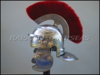 Roman Centurion Helmet with Red Plume