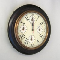 Marine Wall Clock, Five Time