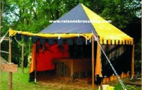 Sales Tent, Medieval Tent