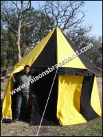 Medieval Knight Tent Round