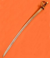 Cavalry Sabre Sword Curved With Spoon
